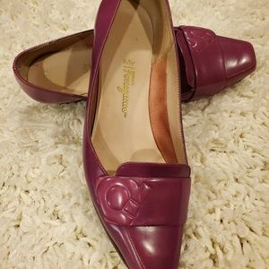 Salvatore ferragamo wedge shoes